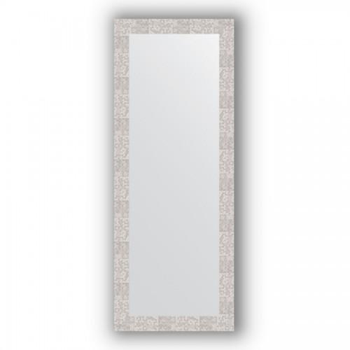 Зеркало в багетной раме - соты алюминий 70 mm BY 3115