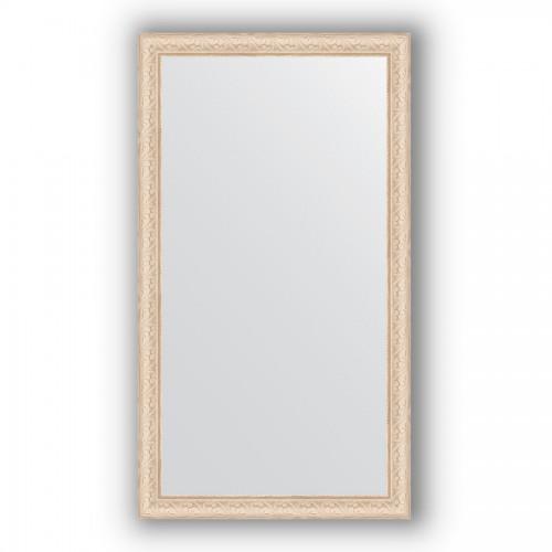 Зеркало в багетной раме - беленый дуб 57 mm BY 1086