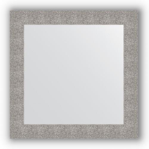 Зеркало в багетной раме - чеканка серебряная 90 mm BY 3247