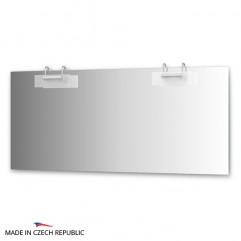 Зеркало с 2-мя светильниками 200 W MOD-D2 0220