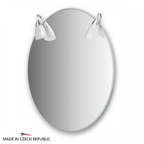Зеркало с 2-мя светильниками 80 W CLA-A2 0013