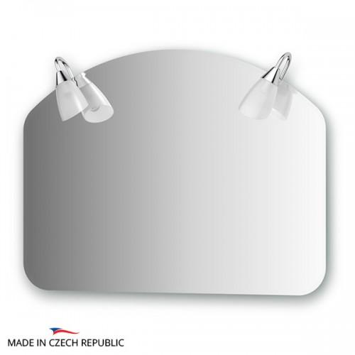Зеркало с 2-мя светильниками 80 W CLA-A2 1001