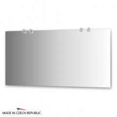 Зеркало с 4-мя светильниками 80 W CRY-B4 0218