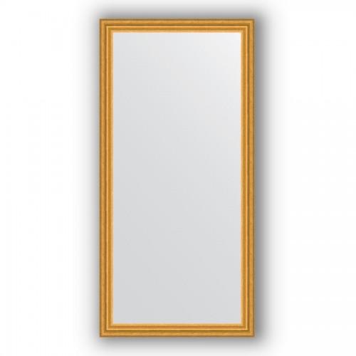 Зеркало в багетной раме - состаренное золото 67 mm BY 1121