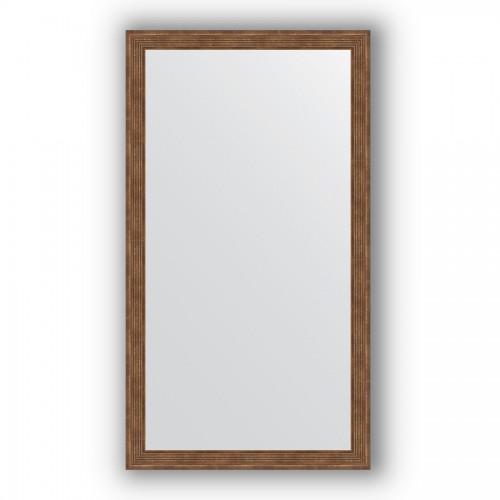 Зеркало в багетной раме - сухой тростник 51 mm BY 1084