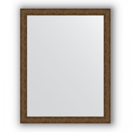 Зеркало в багетной раме - виньетка состаренная бронза 56 mm BY 3265
