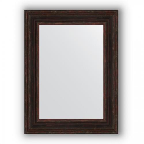 Зеркало в багетной раме - темный прованс 99 mm BY 3062
