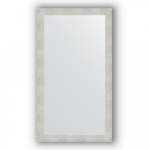 Зеркало в багетной раме - серебряный дождь 70 mm BY 3304