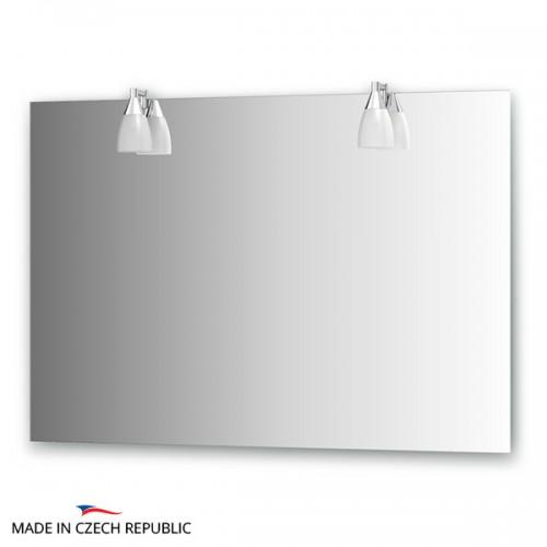 Зеркало с 2-мя светильниками 80 W ROM-A2 0214