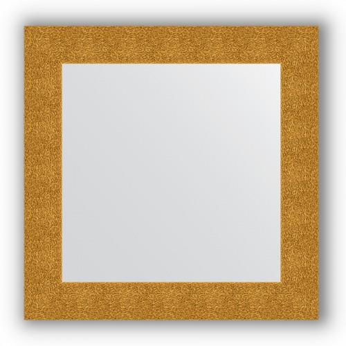Зеркало в багетной раме - чеканка золотая 90 mm BY 3150
