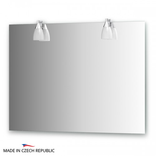 Зеркало с 2-мя светильниками 80 W ROM-A2 0213