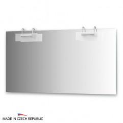 Зеркало с 2-мя светильниками 200 W MOD-D2 0217