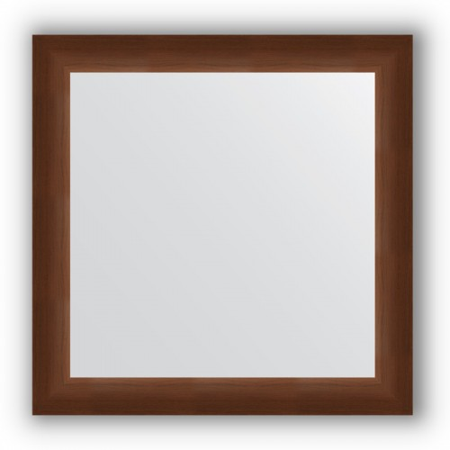 Зеркало в багетной раме - орех 65 mm BY 0784