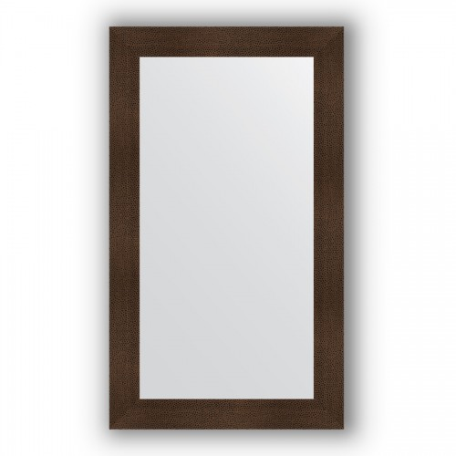 Зеркало в багетной раме - бронзовая лава 90 mm BY 3216