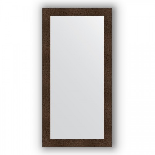 Зеркало в багетной раме - бронзовая лава 90 mm BY 3344