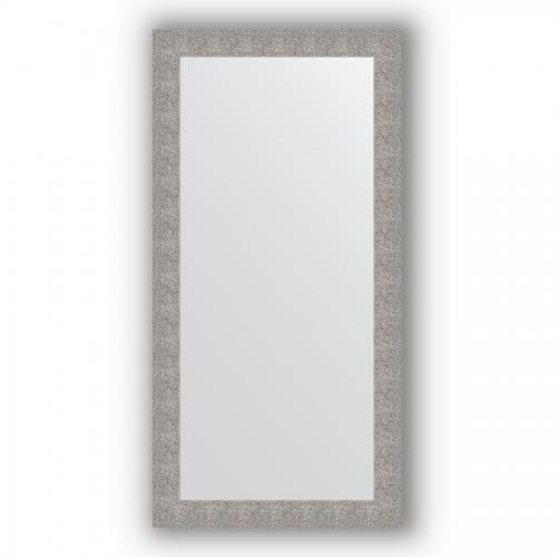 Зеркало в багетной раме - чеканка серебряная 90 mm BY 3343