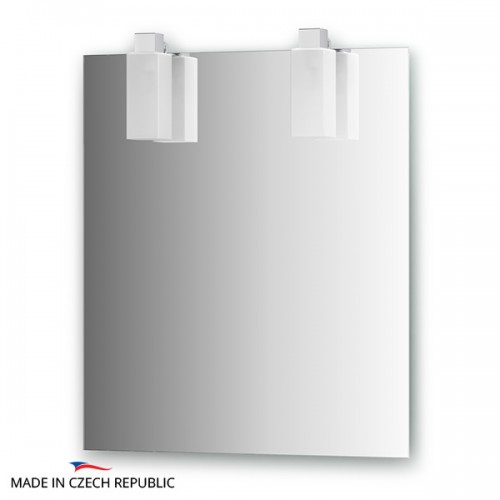 Зеркало с 2-мя светильниками 22 W RUB-B2 0208