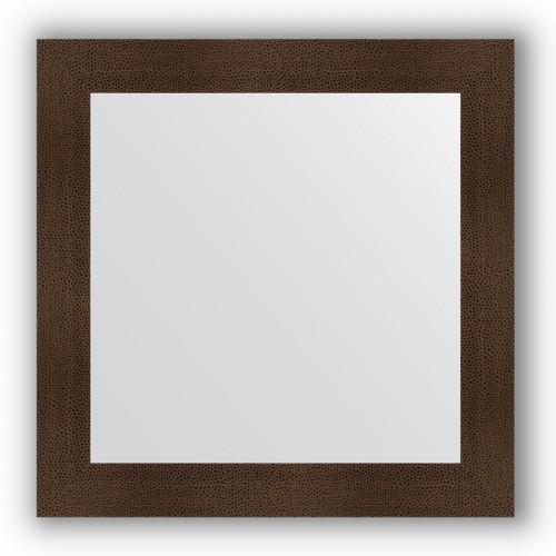 Зеркало в багетной раме - бронзовая лава 90 mm BY 3248