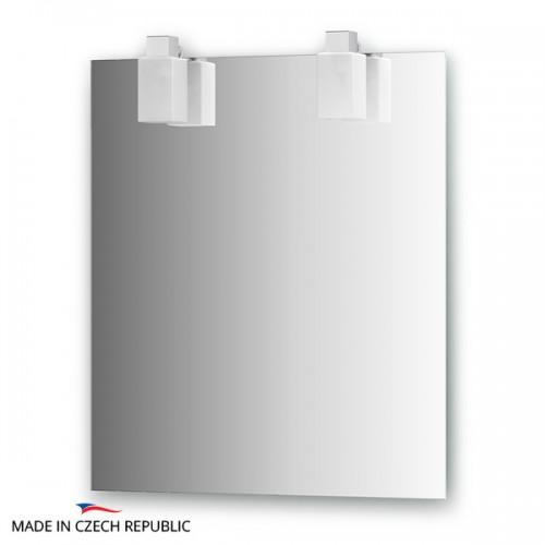Зеркало с 2-мя светильниками 80 W RUB-A2 0208