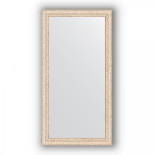 Зеркало в багетной раме - беленый дуб 57 mm BY 1056