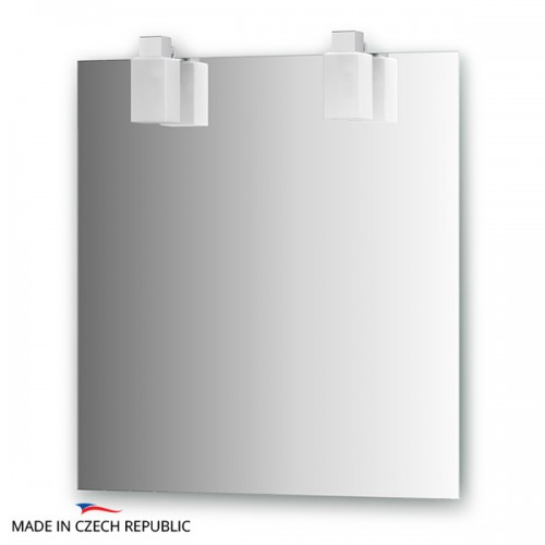 Зеркало с 2-мя светильниками 80 W RUB-A2 0209
