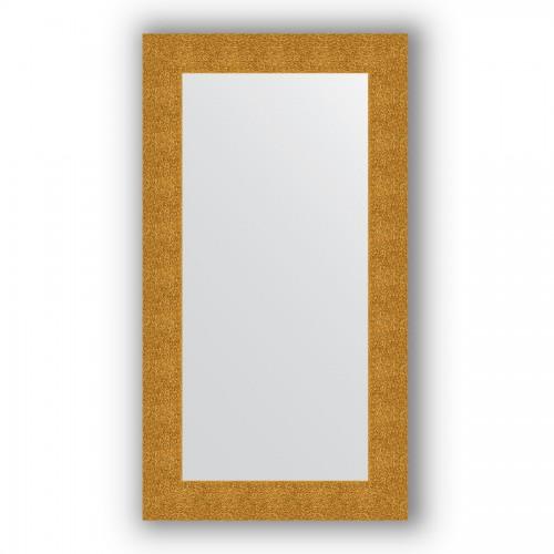 Зеркало в багетной раме - чеканка золотая 90 mm BY 3086