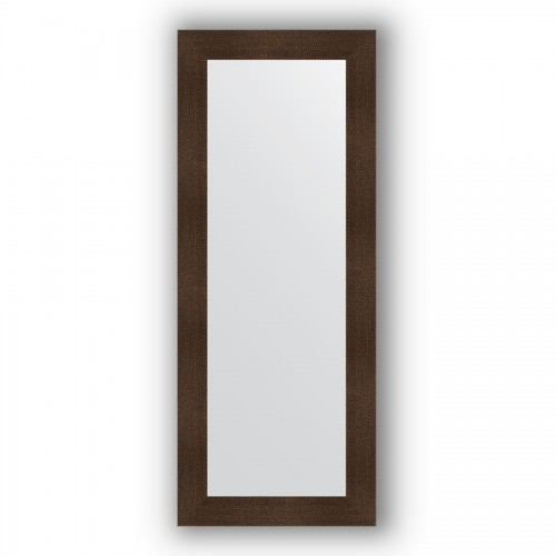 Зеркало в багетной раме - бронзовая лава 90 mm BY 3120
