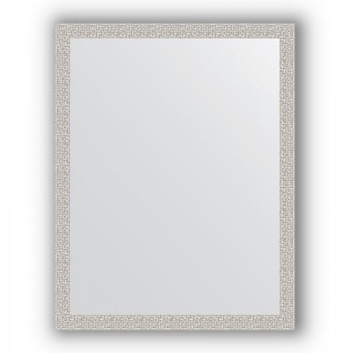Зеркало в багетной раме - мозаика хром 46 mm BY 3260