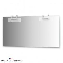 Зеркало с 2-мя светильниками 200 W MOD-D2 0218
