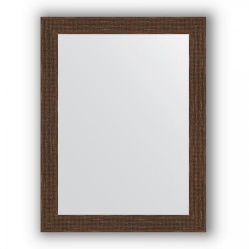 Зеркало в багетной раме - мозаика античная медь 70 mm BY 3177