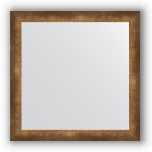 Зеркало в багетной раме - состаренная бронза 66 mm BY 1030