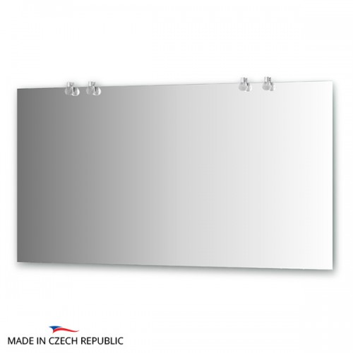 Зеркало с 4-мя светильниками 80 W CRY-B4 0217