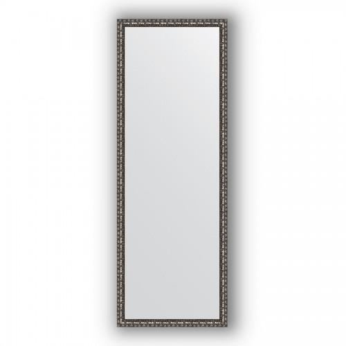 Зеркало в багетной раме - черненое серебро 38 mm BY 1063