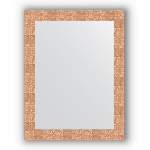 Зеркало в багетной раме - соты медь 70 mm BY 3178