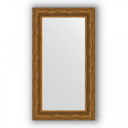 Зеркало в багетной раме - травленая бронза 99 mm BY 3093