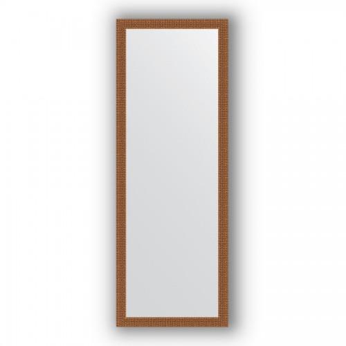 Зеркало в багетной раме - мозаика медь 46 mm BY 3099