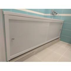 Экран под ванну акриловый на заказ 190-200см возможен вырез под трубы