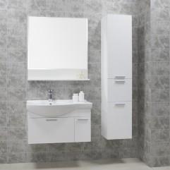 Комплект мебели для ванной Акватон Инди 80 белый