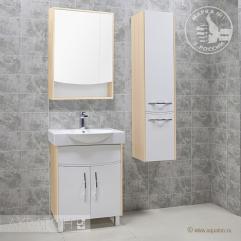 Комплект мебели для ванной Акватон Инфинити 65 H ясень коимбра