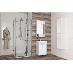 Комплект мебели для ванной Акватон Рико 50 белый/ясень