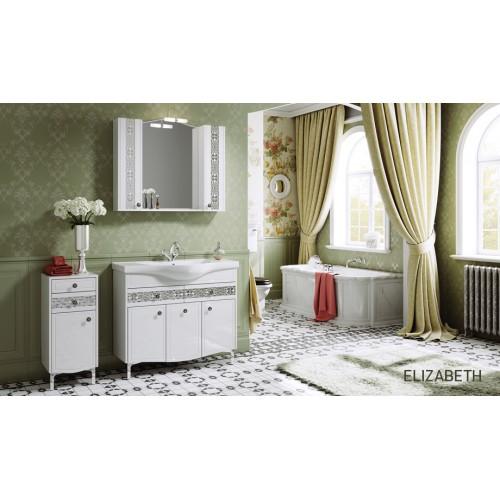 Комплект мебели для ванной Alavann Elizabeth 100 белый