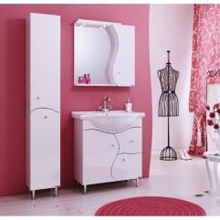 Комплект мебели для ванной Alavann Катрин 75 белый