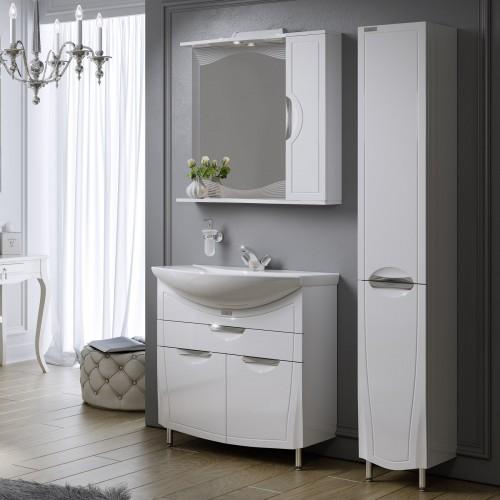 Комплект мебели для ванной Alavann Monaco 80 белый
