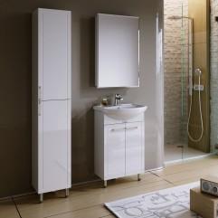 Комплект мебели для ванной Alavann Vittoria 50-01 белый
