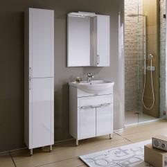 Комплект мебели для ванной Alavann Vittoria 60-02 белый