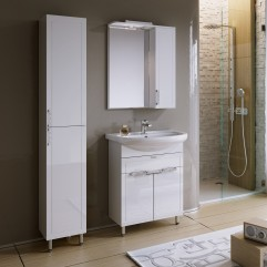 Комплект мебели для ванной Alavann Vittoria 65-02 белый