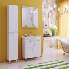 Комплект мебели для ванной Alavann Флоранс 65 белый