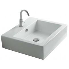 Раковина AXA White Stone Hox 48 подвесная/накладная