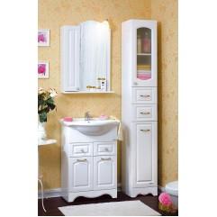 Комплект мебели для ванной Бриклаер Анна 60 белый