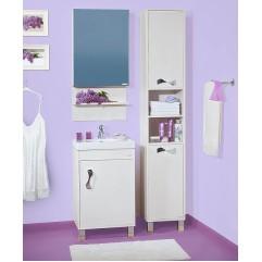 Комплект мебели для ванной Бриклаер Аргентина 50 светлая лиственница